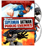 Buy Superman/Batman: Public Enemies On DVD !