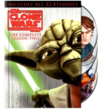 Own Stars Wars Clone Wars: Season 2 On DVD !