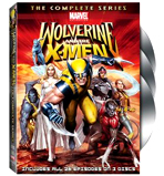 Own Wolverine And The X-Men: The Complete Series On DVD !