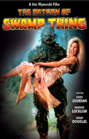 Return of Swamp Thing !
