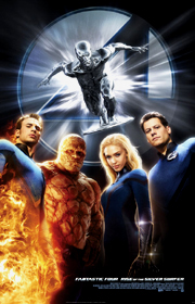 Fantastic Four: Rise of the Silver Surfer!